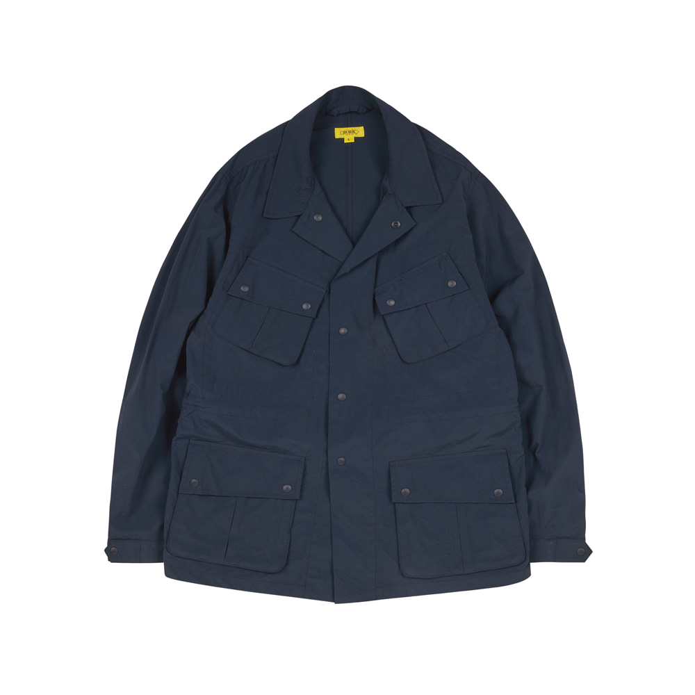 HAVANA JACKET(WASHED NYLON) [PRUSSIAN BLUE]