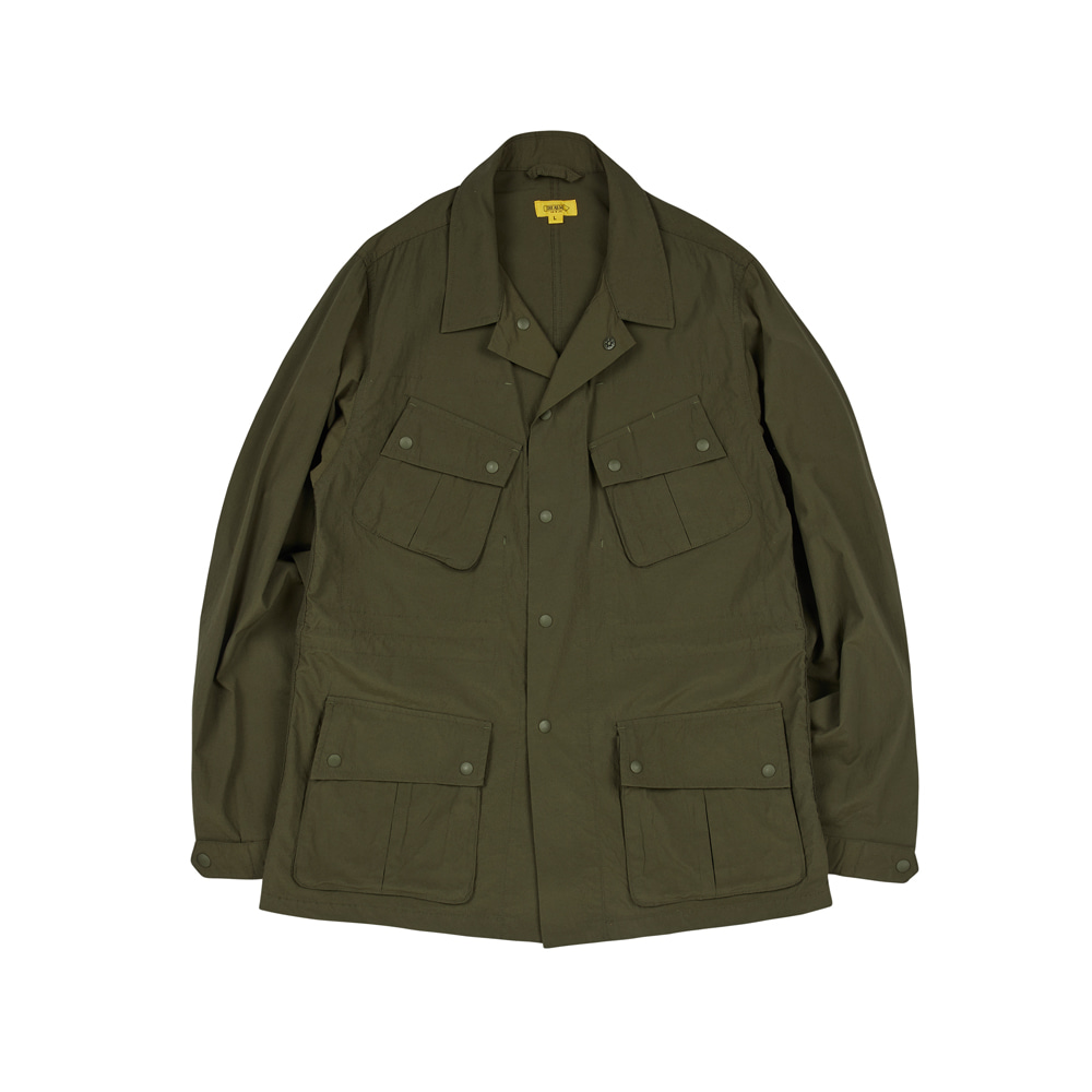 HAVANA JACKET(WASHED NYLON) [OLIVE GREEN]