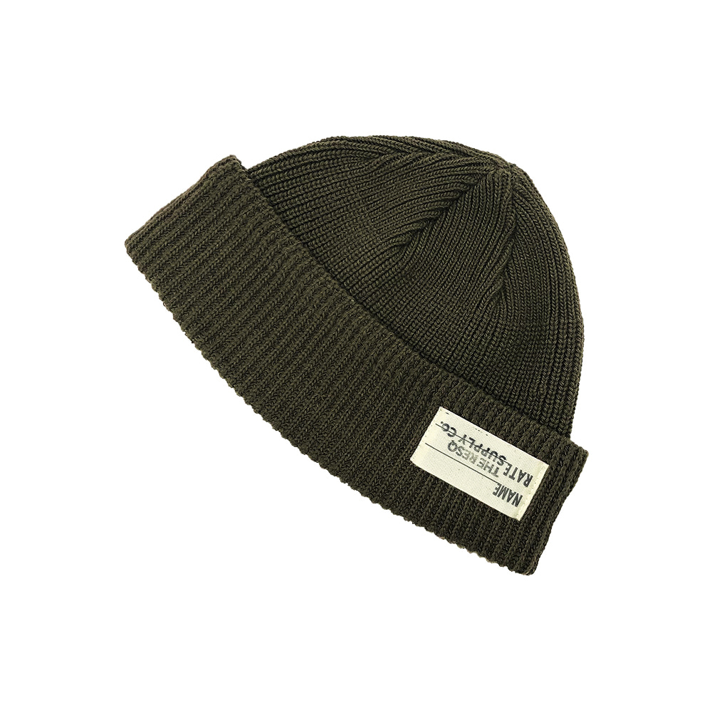 NAVAL WATCH CAP(Feat. WILDHOGS) [OLIVE GREEN]