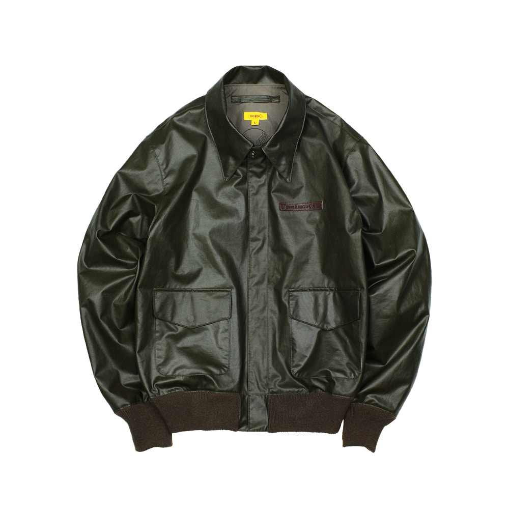 CAPTAIN A-2 FLIGHT JACKET [BLACK OLIVE]